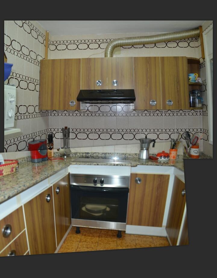 a pesar de sus aos esta cocina estaba en muy buen estado y a sido fcil su desmontaje se desmontaron todos los frontales y cajoneras para
